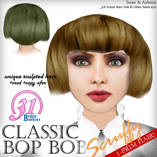 BB31 Classic Bop Bob Scruffy