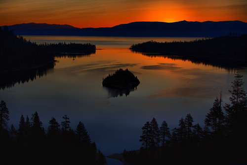 Sunrise Over Emerald Bay