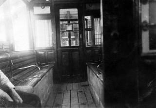Interiør på Skabovogn fra 1904