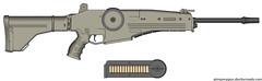 assault rifle, trigger, weapon, machine gun, firearm, gun,