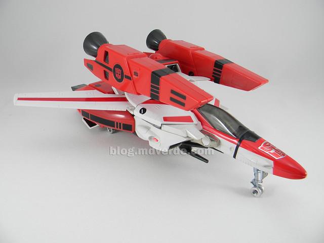 Transformers Jetfire G1 - modo alterno con armadura