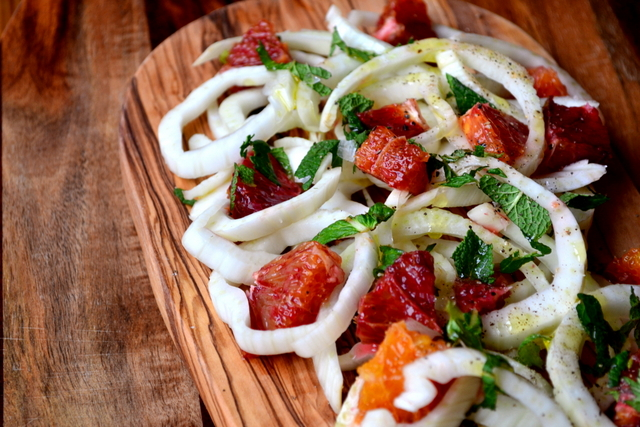 Blood Orange and Fennel Salad