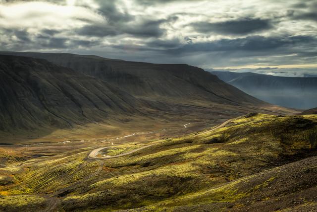 The Descent to Borgarfjörður