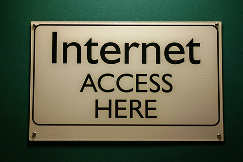 Photo:Internet Access Here Sign By:Steve Rhode