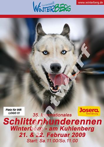 Winterberg Plakatentwurf