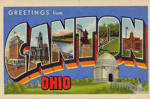 Old Postcard of Canton Thanks Ralph Young
