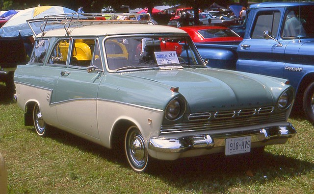 1957 ford taunus 2 door wagon flickr photo sharing for 1957 ford 2 door
