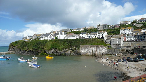 The Harbour Port Issac Cornwall