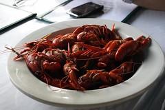animal(0.0), seafood boil(0.0), crayfish(0.0), dungeness crab(0.0), homarus(0.0), american lobster(0.0), lobster(1.0), crustacean(1.0), seafood(1.0), produce(1.0), food(1.0),