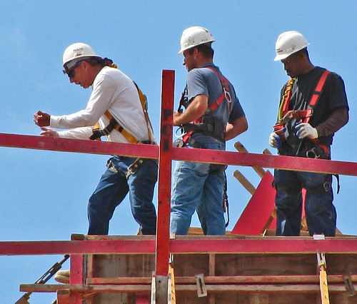 Workers at the top