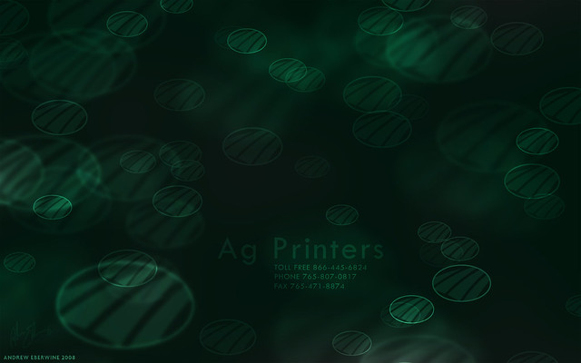 Ag Printers Bokeh wallpaper