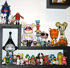 Our toy shelves