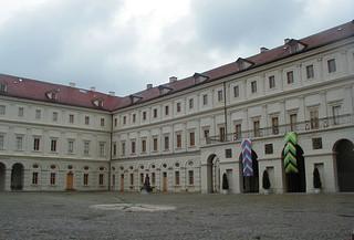 Obraz Stadtschloss. germany deutschland weimar thüringen thuringen palace schloss stadtschloss residenzschloss