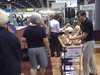 Stephen sampling bars at the FL PGA show. by The PROBAR