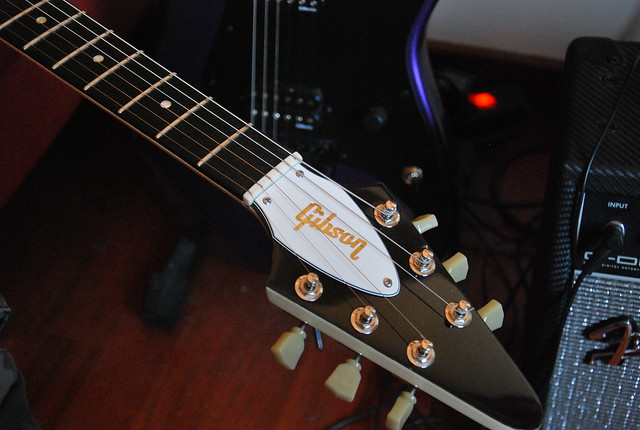 Photo:Gibson Flying V '68 Reissue - Classic White By Freebird_71