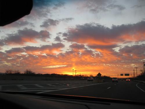 sunset cloud longisland sunrisehighway