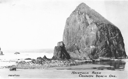 Haystack Rock on Cannon Beach, Oregon