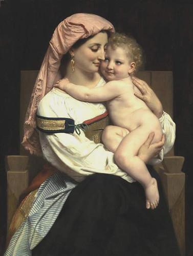 Femme_de_Cervara_et_Son_Enfant, woman of cervara and her child