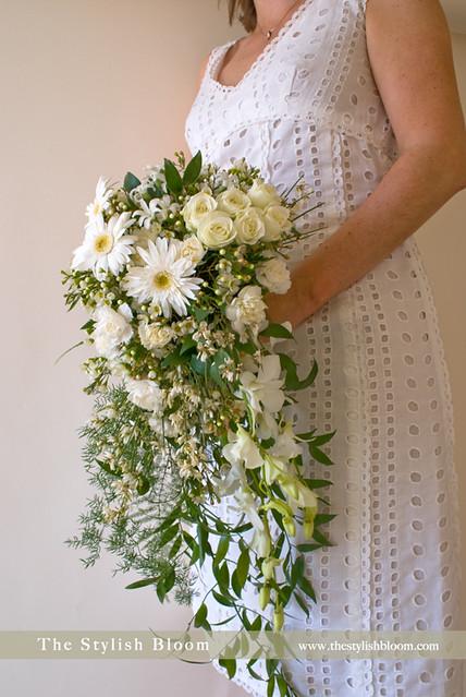 How To Make Bridal Bouquet Cascade : Cascade wedding bouquet flickr photo sharing