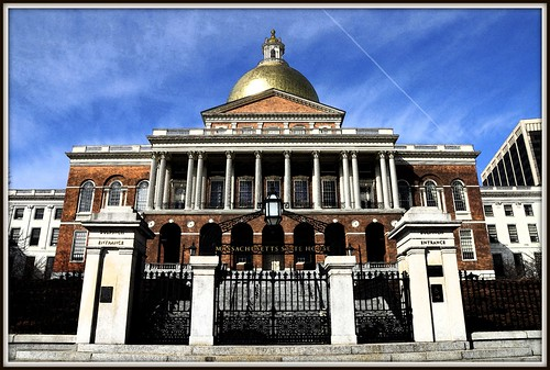 The Massachusetts State House (1798) (1 of 2) (Credit: Tony Fischer Photography on Flickr.com)