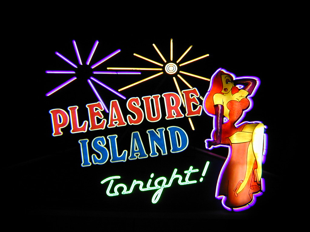 Pleasure Island Neons