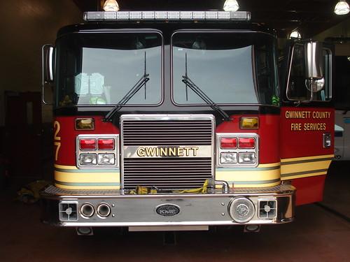 county station truck ga georgia fire engine service 27 department kme unit gwinnett gcfd gcfs