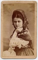 Hungarian Actress Lujza Blaha