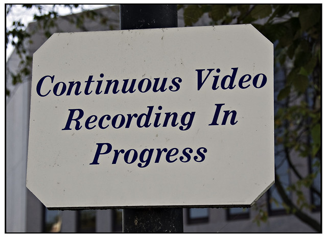 Continuous Video Recording in Progress