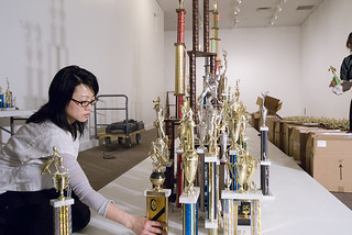 Jean Shin Installing EVERYDAY MONUMENTS