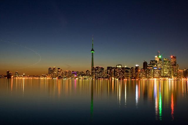 Toronto Skyline by CC user choudhrysaab on Flickr