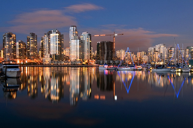 Vancouver Cityscape Flickr Photo Sharing