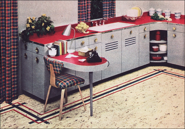 1950s kitchen design   nairn linoleum 1950 kitchen   a gallery on flickr  rh   flickr com