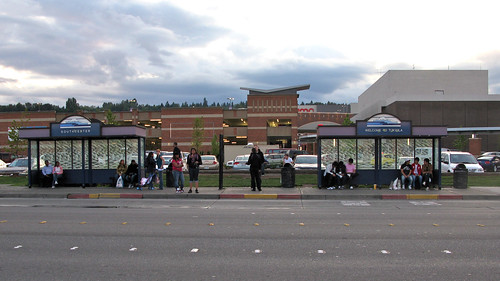 Bus Stop at Westfield Southcenter Mall