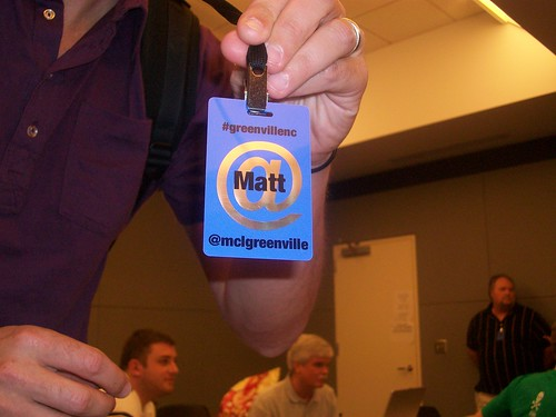 Tweetup Badge...