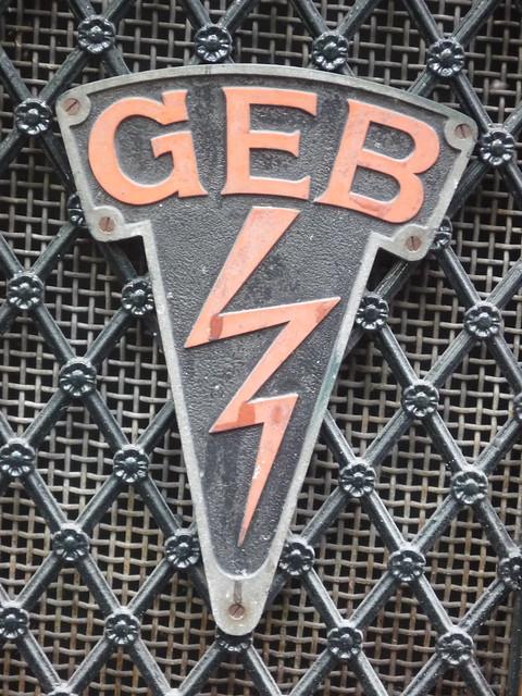 Ubiquitous GEB logo, Amsterdam | Flickr - Photo Sharing!