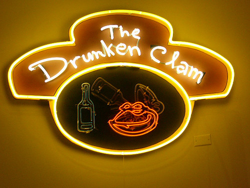 drunken clam | Flickr - Photo Sharing!