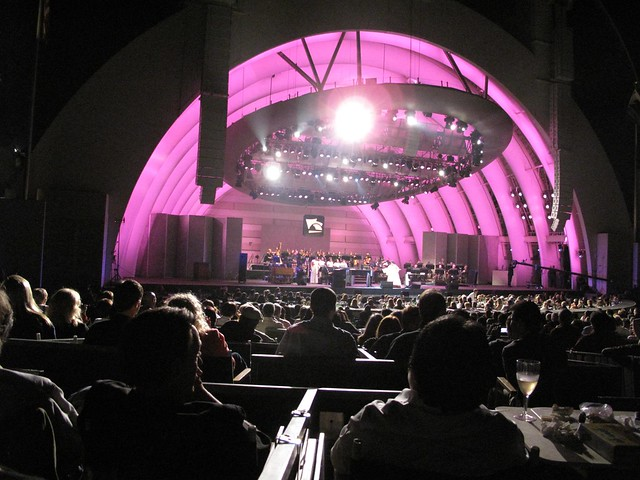 Hollywood Bowl Aretha Franklin Concert Flickr Photo