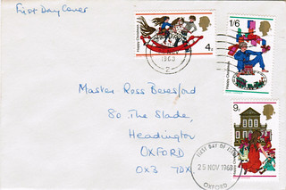 25-Nov-1968 UK First Day Cover