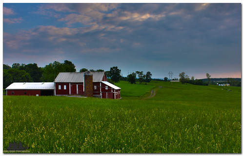 sky cloud green clouds barn canon weed pa statecollege hdr atherton t1i