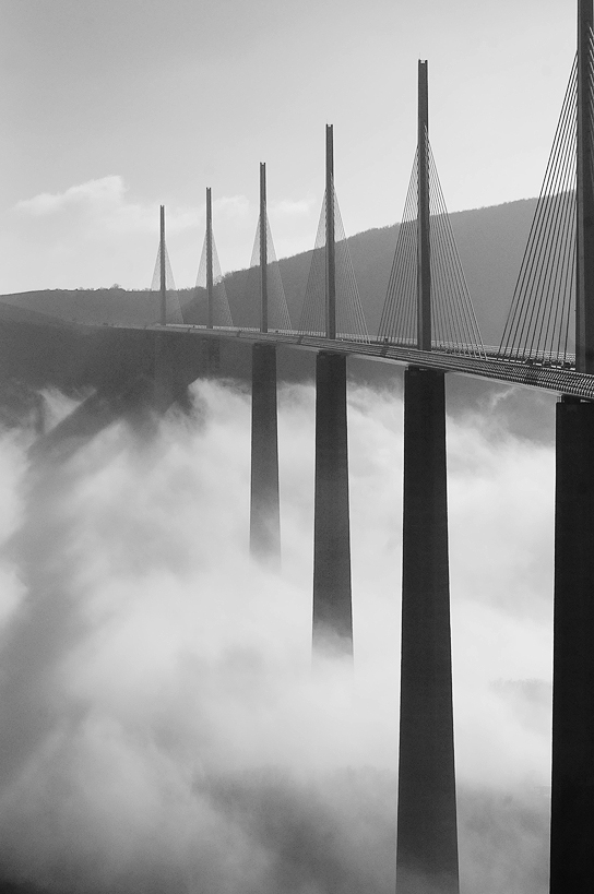 the bridge above the clouds