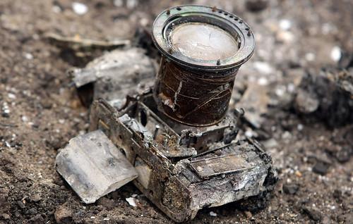 burnt camera