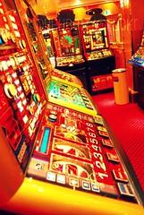 building, slot machine, games, casino,