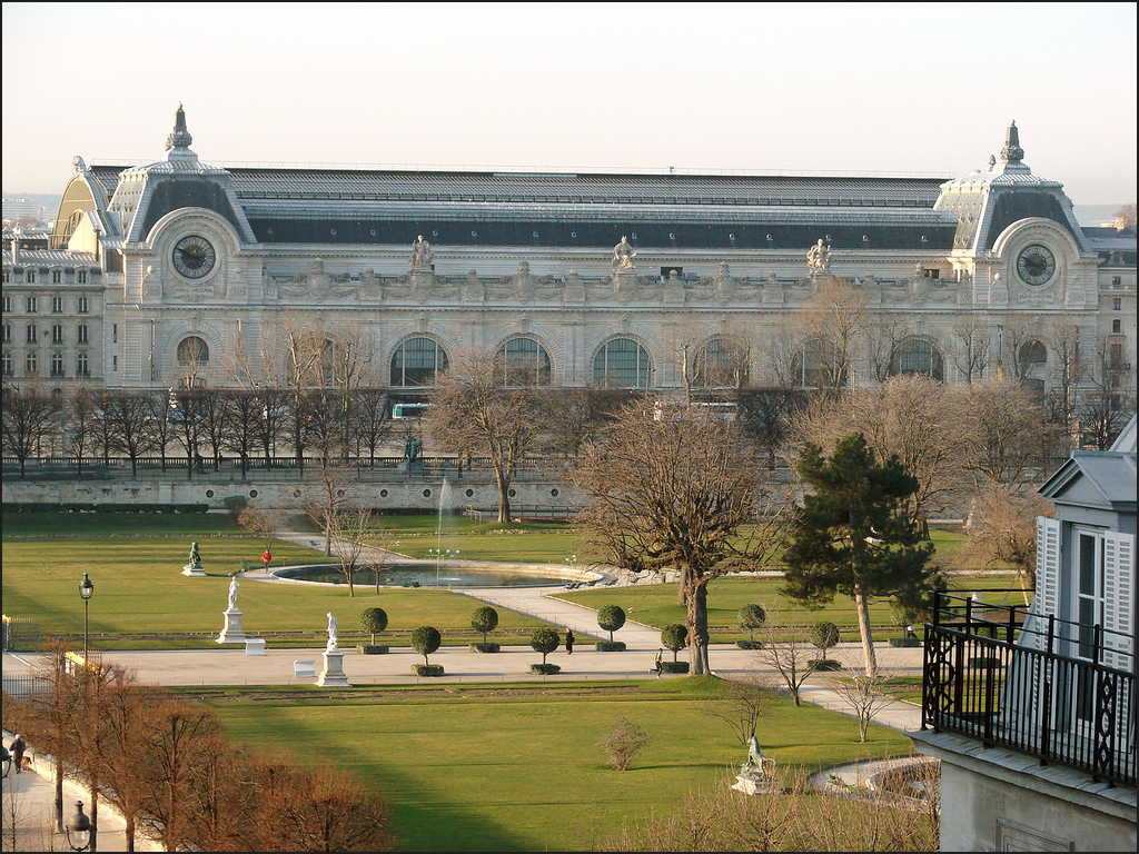 Le jardin des tuileries et le mus e d 39 orsay a photo on for Tuileries jardin