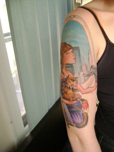 Immortal tattoo skyline tattoo for Cleveland skyline tattoo
