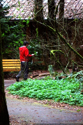 this guy was walking around the park with a trillium flower in his hand. i'm pretty sure that's illegal.    MG 0901