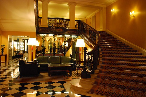 London, England | Claridge's Lobby