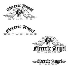 Electric Angel Studios   logo development