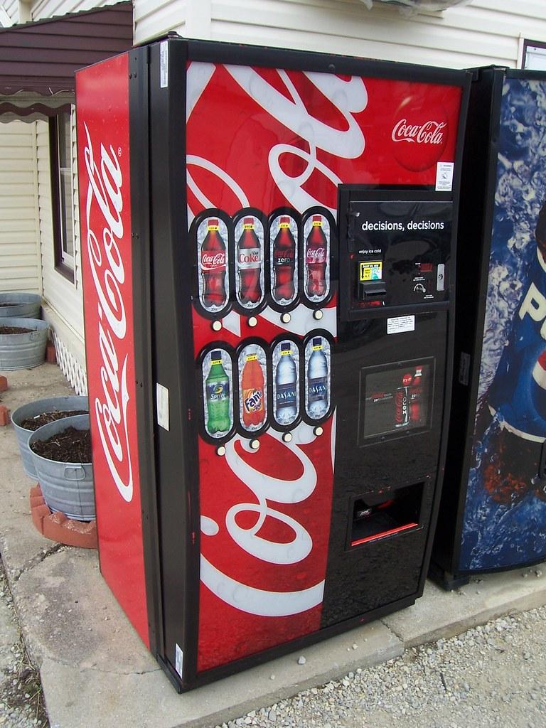 coca cola new vending machine Coca cola's new vending machines (a): pricing to capture value or not prof prem p dewani fellow: iim ahmedabad assistant prof iim lucknow.