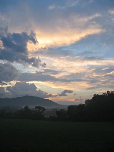 mountains beauty sunrise nc asheville