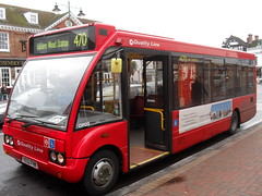 vehicle, optare solo, transport, mode of transport, public transport, land vehicle, bus,